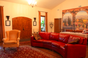 Inside The Villa residential home.